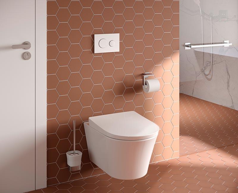 Das WC GP von TOTO vereint in neuem, zeitlosen Design alle bewährten WC Technologien von TOTO. Foto: TOTO